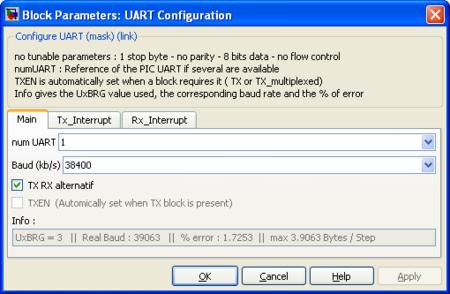 Lubin Kerhuel's Website - DsPIC Block/UART Configuration - Lubin